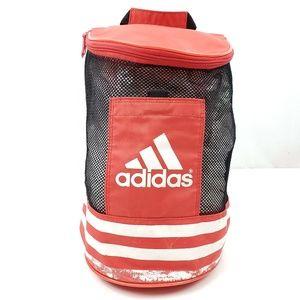Vintage Adidas Red Black Mesh Bucket Bag